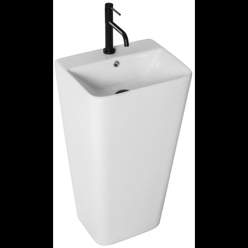 Freestanding ceramic basin ARIS