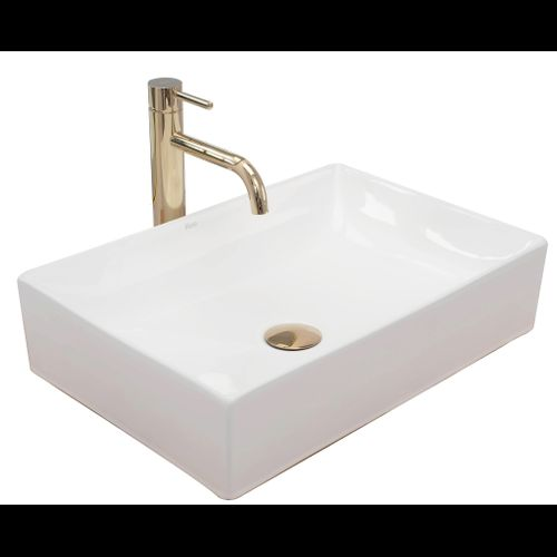 Countertop washbasin REA Inga white