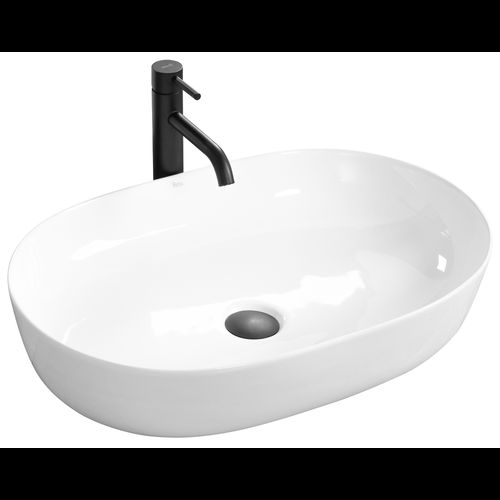 Ceramic Countertop Basin CLEO White - REA
