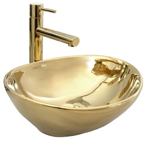 Countertop Basin Rea Sofia Gold