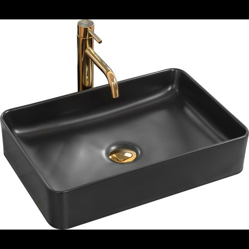 Countertop Basin AVIA Black Mat