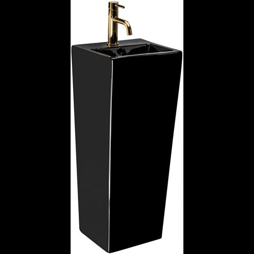 Freestanding washbasin Kamila Black