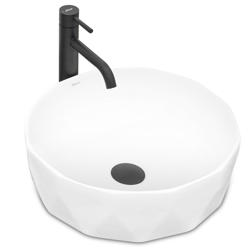 Countertop Basin VISTA White